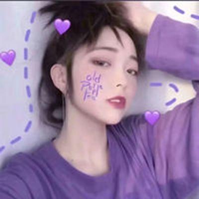 女生头像蓝色系仙女味真人_WWW.QQYA.COM