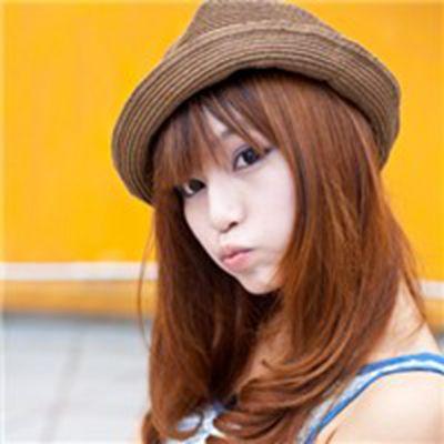 戴帽子女生头像大全_WWW.QQYA.COM