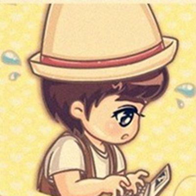 超萌可爱卡通情侣头像一左一右一对_WWW.QQYA.COM