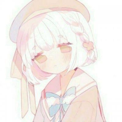 头像女生简单气质漫画_WWW.QQYA.COM