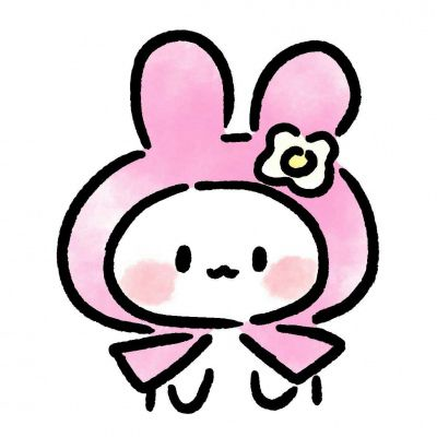高清可爱的小兔子头像图片萌萌哒_WWW.QQYA.COM