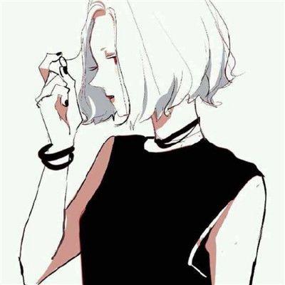 素描头像女生唯美简单一点高清_WWW.QQYA.COM