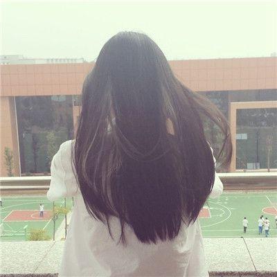 女生唯美背影长发头像精选_WWW.QQYA.COM