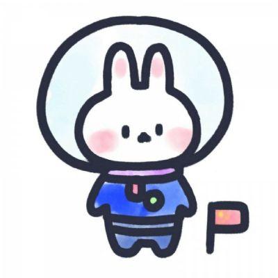 超可爱的兔兔头像_WWW.QQYA.COM