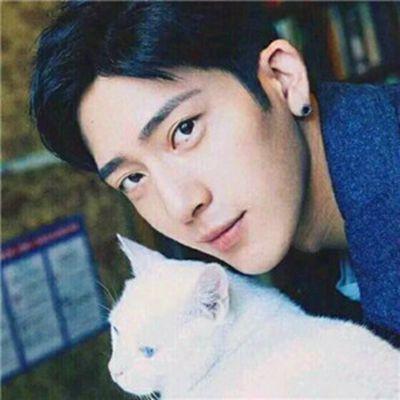 带猫的情侣头像_WWW.QQYA.COM
