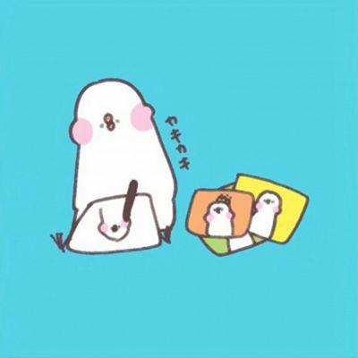 可爱卡通手绘头像_WWW.QQYA.COM