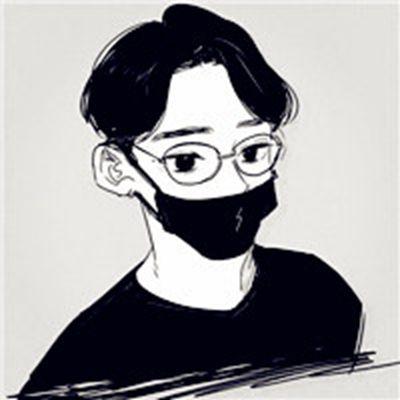 动漫眼镜男头像_WWW.QQYA.COM