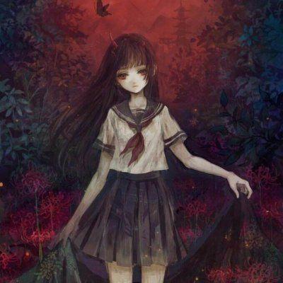 黑暗系动漫头像女冷酷_WWW.QQYA.COM