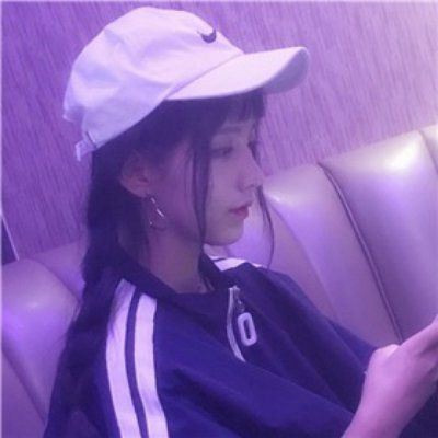 紫色头像女生唯美_WWW.QQYA.COM