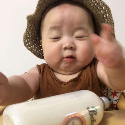 女宝宝头像可爱萌图片 大眼睛可爱女婴儿图片_WWW.QQYA.COM