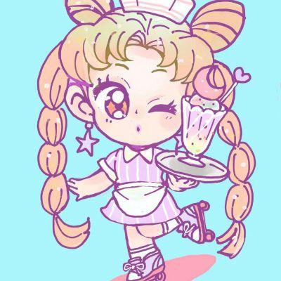 高清好看的美少女战士月野兔可爱头像图片_WWW.QQYA.COM