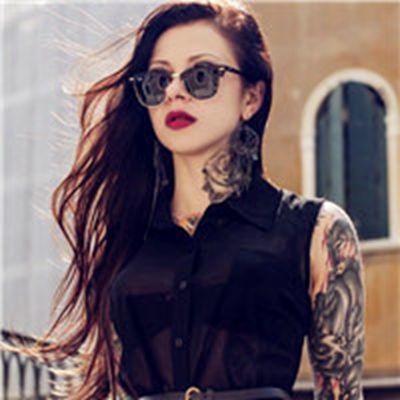 身上有纹身的女生头像图片_WWW.QQYA.COM