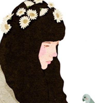 卡通手绘女孩唯美头像图片_WWW.QQYA.COM