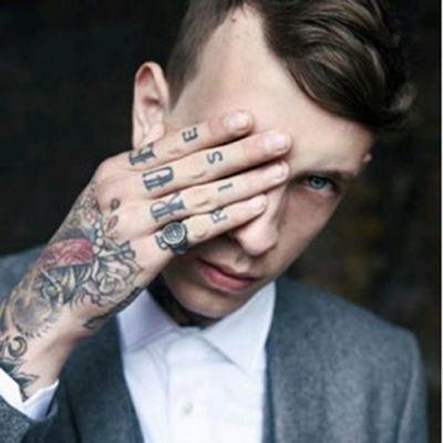 高清霸气的社会人头像男生带纹身图片_WWW.QQYA.COM