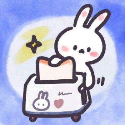 高清萌萌哒的可爱头像卡通兔子头像图片_WWW.QQYA.COM