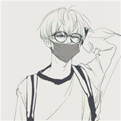 动漫帅哥头像高清冷酷拽男_WWW.QQYA.COM