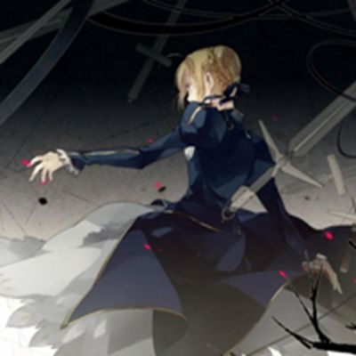 《Fate》saber头像_WWW.QQYA.COM