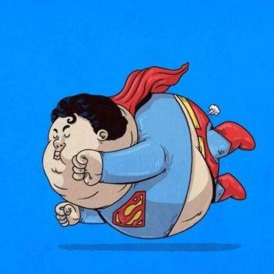 一组有创意胖胖的卡通可爱头像_WWW.QQYA.COM