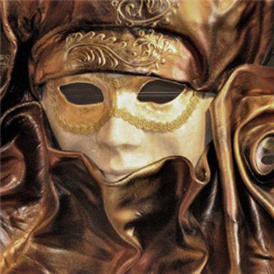 恐怖的面具头像_WWW.QQYA.COM