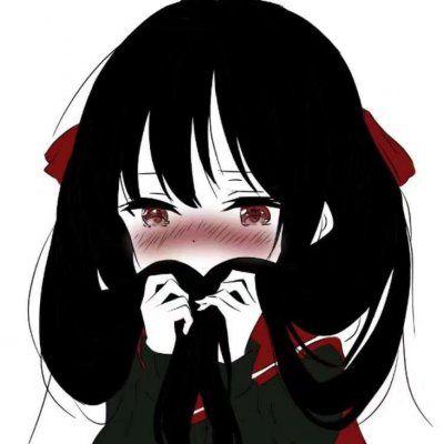 二次元黑化少女头像图片_WWW.QQYA.COM