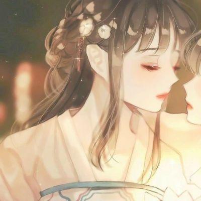 闺蜜头像二人二张配对动漫_WWW.QQYA.COM