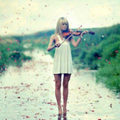小提琴唯美头像_WWW.QQYA.COM