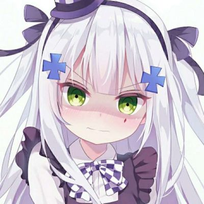 高清好看同一个系列的卡漫可爱少女图片头像_WWW.QQYA.COM