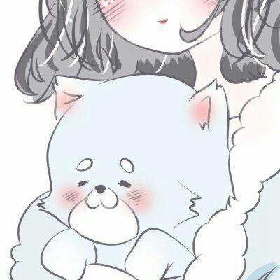 可爱动漫女生闺蜜头像_WWW.QQYA.COM