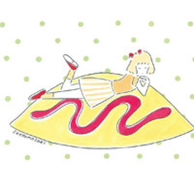 可爱美食手绘头像图片_WWW.QQYA.COM