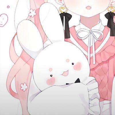 甜美可爱动漫女生头像_WWW.QQYA.COM
