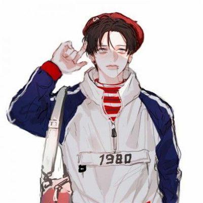 二次元头像男生冷酷霸气动漫_WWW.QQYA.COM