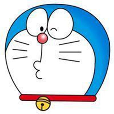孩子喜欢的卡通机器猫头像图片大全_WWW.QQYA.COM