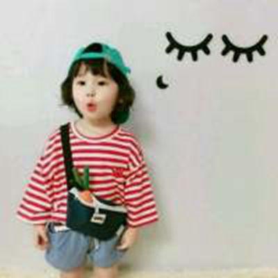 可爱小孩子卖萌头像_WWW.QQYA.COM