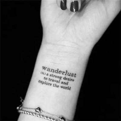 女生手臂纹身头像_WWW.QQYA.COM