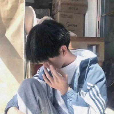 很丧很抑郁的男头像真人血腥_WWW.QQYA.COM