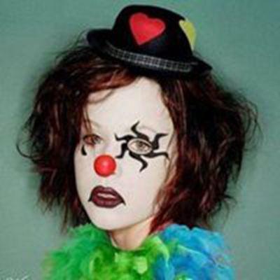 笑着哭小丑面具头像_WWW.QQYA.COM