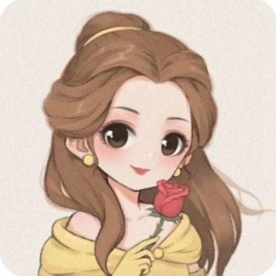 高清好看的迪士尼卡通公主情头图片_WWW.QQYA.COM