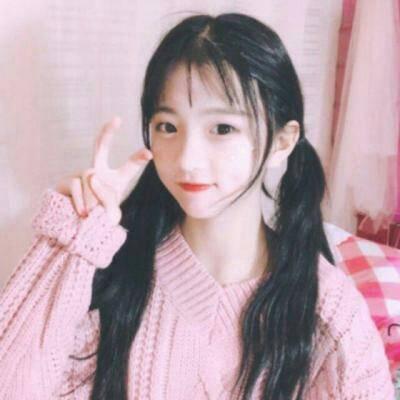 粉色系闺蜜头像少女心_WWW.QQYA.COM