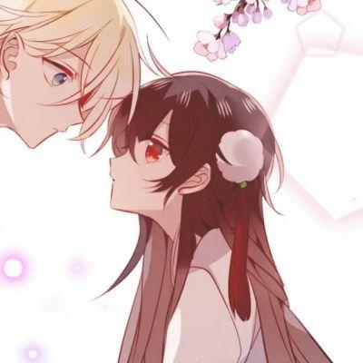 高清好看的快看漫画情侣头像一对两张图片_WWW.QQYA.COM