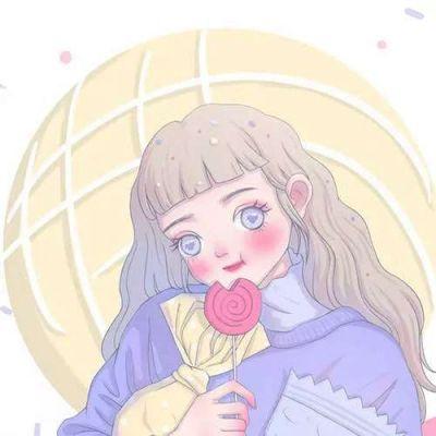 微信头像动漫女生手绘_WWW.QQYA.COM