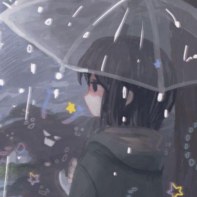 头像背景图一套女动漫_WWW.QQYA.COM