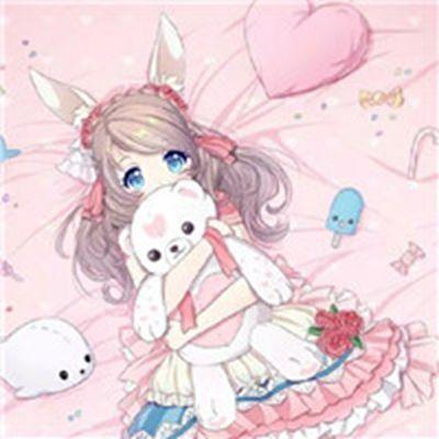 女生带耳朵的动漫头像图片_WWW.QQYA.COM