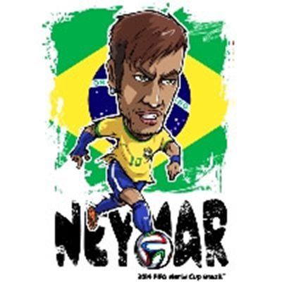 巴西世界杯球员头像_WWW.QQYA.COM
