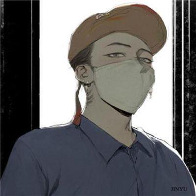 戴口罩的动漫头像男生_WWW.QQYA.COM