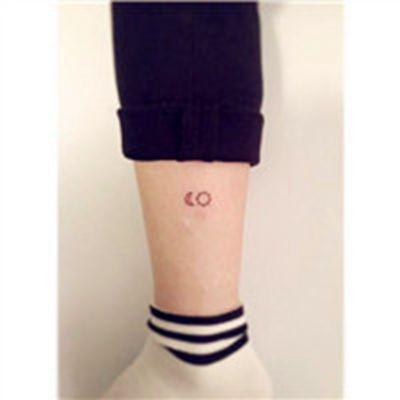 个性纹身图案女头像_WWW.QQYA.COM