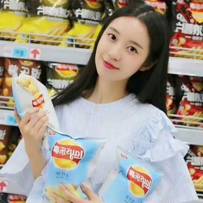 女生吃东西的头像图片_WWW.QQYA.COM