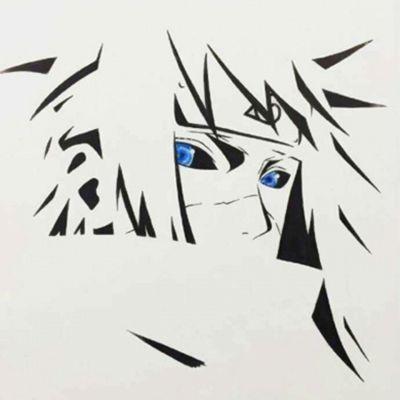 火影忍者漫画手绘图片头像_WWW.QQYA.COM