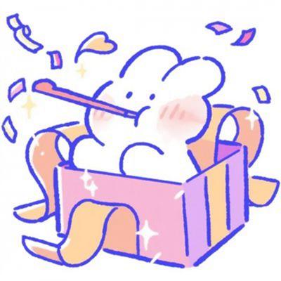 简笔画兔子头像图片大全_WWW.QQYA.COM