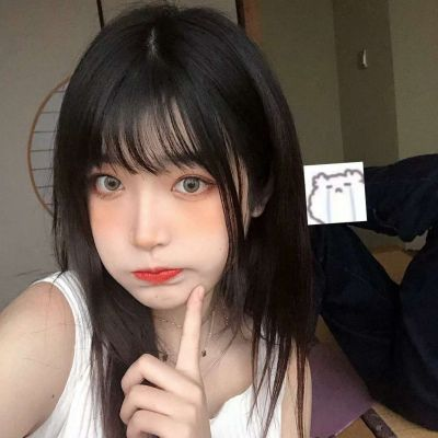 微信头像网红潮流女_WWW.QQYA.COM