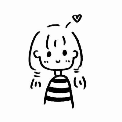 小女孩简笔画漂亮可爱头像_WWW.QQYA.COM